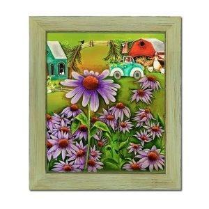 Blakeley Wilson American folkart painting