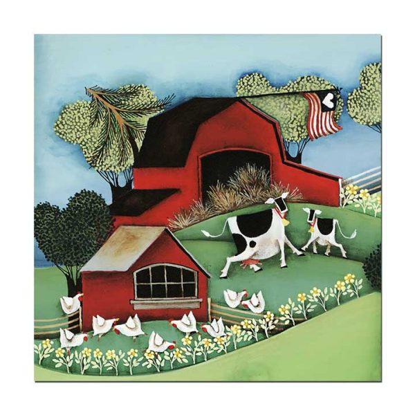 Blakeley Wilson American Folk Art Painting
